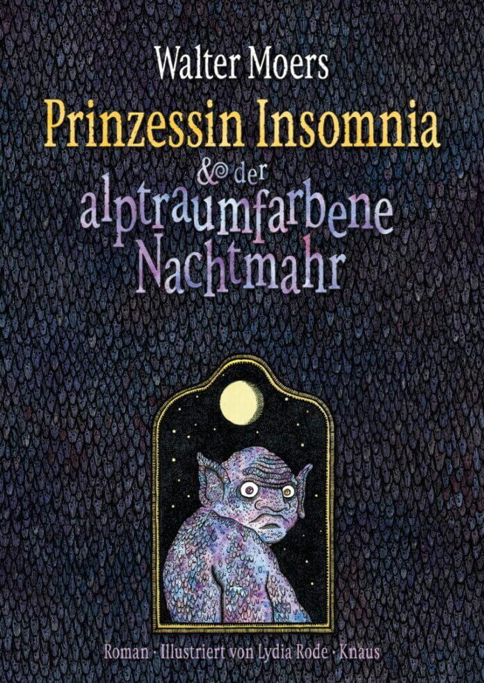 Cover zu Walter Moers – Prinzessin Insomnia und der alptraumfarbene Nachtmahr