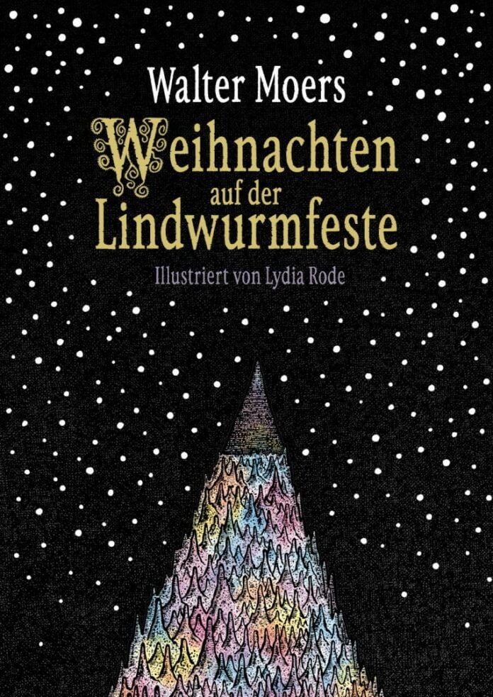 Cover zu Walter Moers – Weihnachten auf der Lindwurmfeste