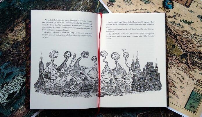 Die Buchlinge in Walter Moers - Der Bücherdrache