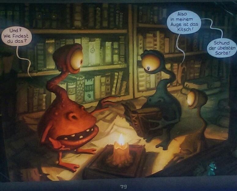 Illustration aus Die Stadt der träumenden Bücher