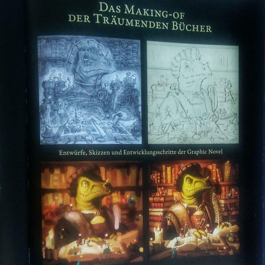 Making-Of Stadt der träumenden Bücher