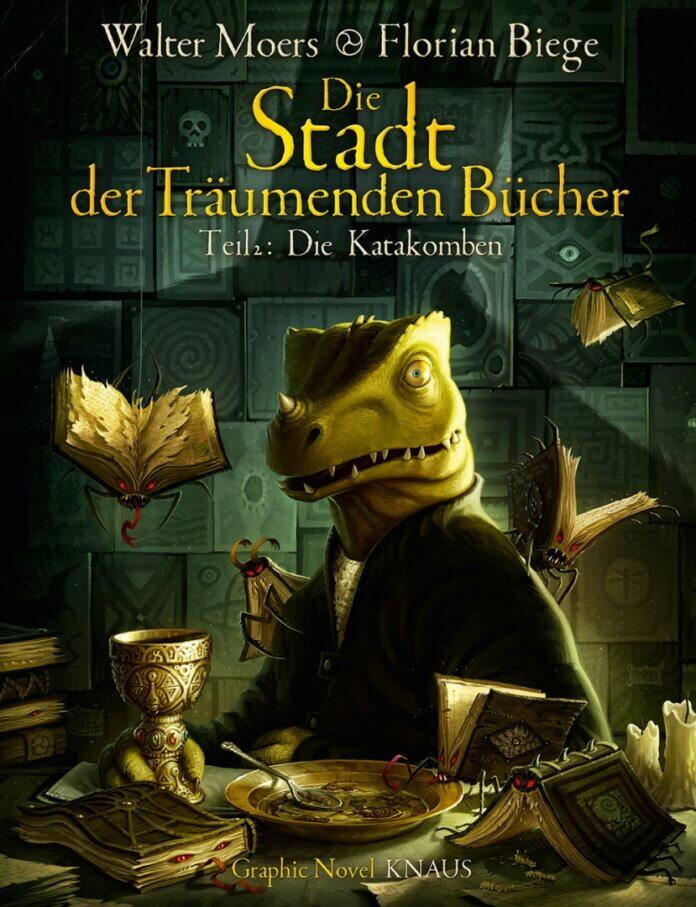 Cover zu Walter Moers – Die Stadt der Träumenden Bücher (Graphic Novel, Teil 2)
