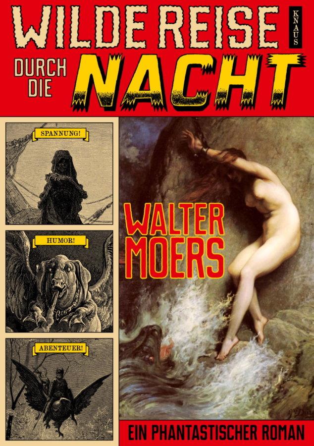 Cover zu Walter Moers - Wilde Reise durch die Nacht