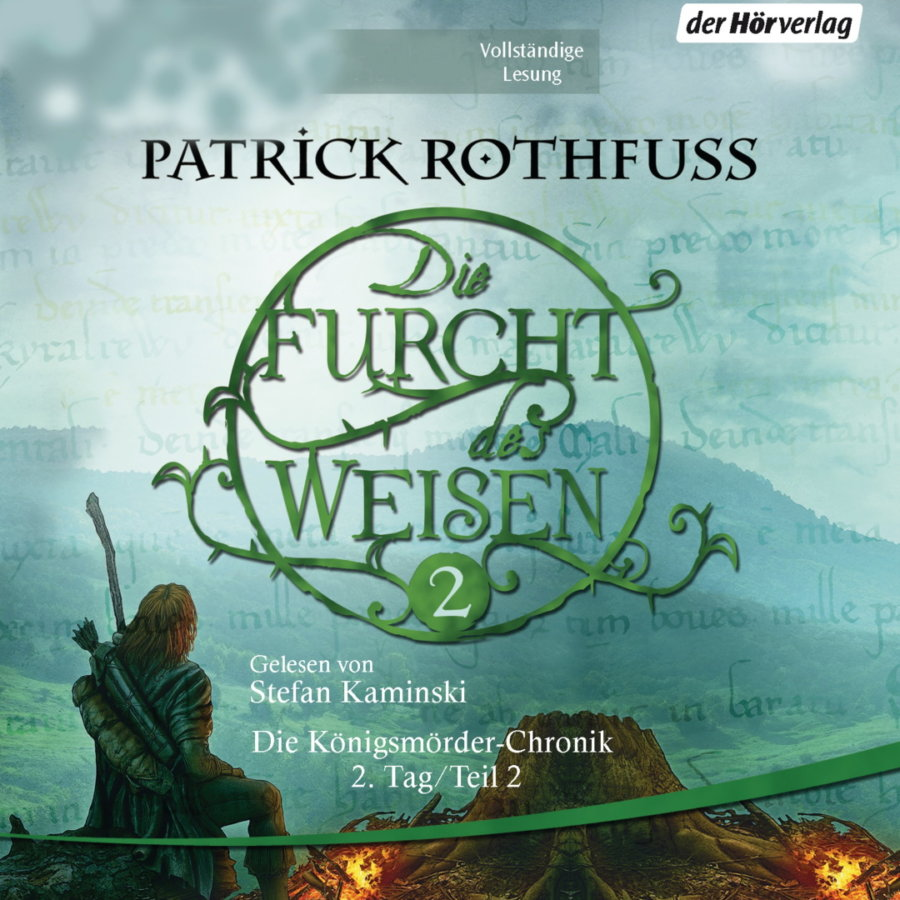 Cover zu Patrick Rothfuss - Die Furcht des Weisen 2 (Hörbuch)