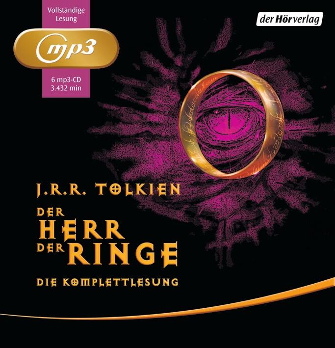 Cover zu J.R.R. Tolkien - Der Herr der Ringe (Hörbuch)