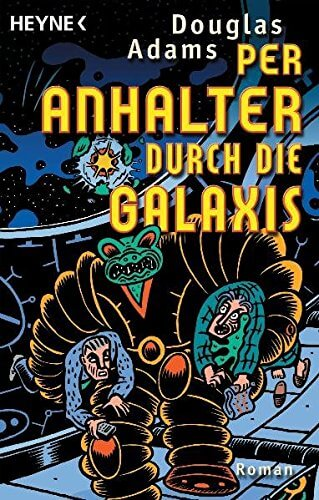 Cover zu Douglas Adams – Per Anhalter durch die Galaxis