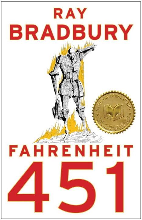 Cover zu Ray Bradbury – Fahrenheit 451