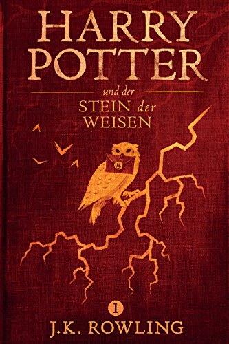 Cover zu Joanne K Rowling – Harry Potter und der Stein der Weisen