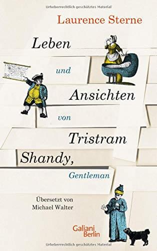 Cover zu Laurence Sterne – Leben und Ansichten von Tristam Shandy Gentleman