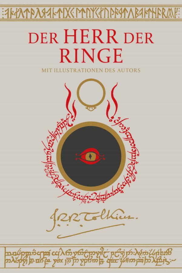 Cover zu J. R. R.  Tolkien – Herr der Ringe