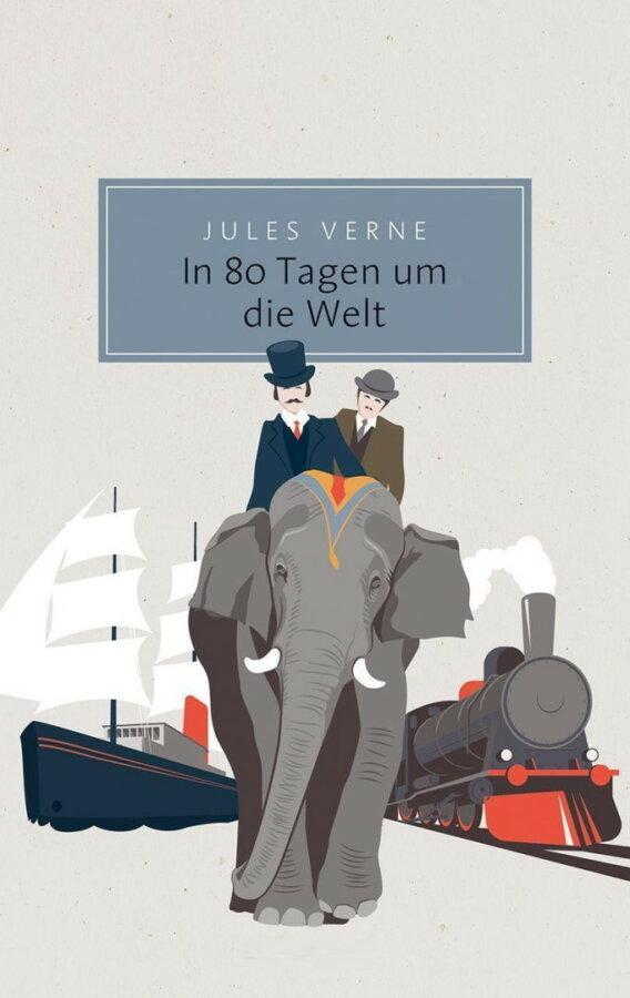 Cover zu Jules Verne – In 80 Tagen um die Welt