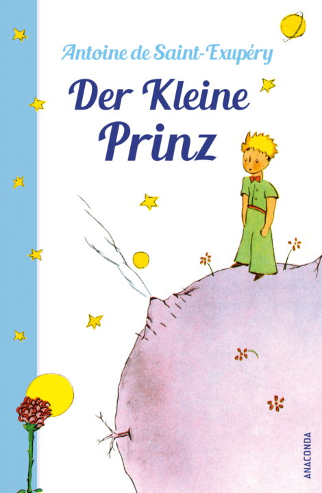 Cover zu Antoine de Saint-Exupery – Der kleine Prinz