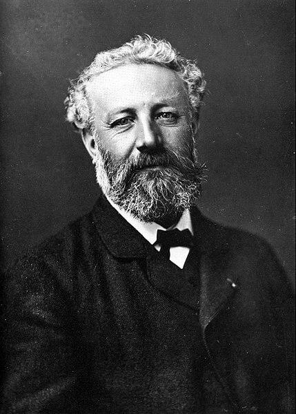 Foto von Jules Verne von Félix Nadar  (gemeinfrei, Quelle: Wikimedia Commons)