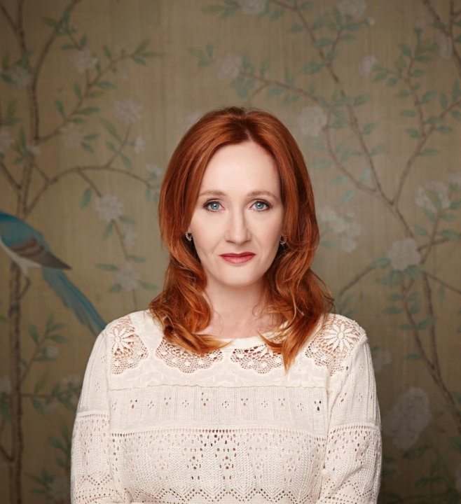 Joanne K Rowling (c) Debra Hurford Brown