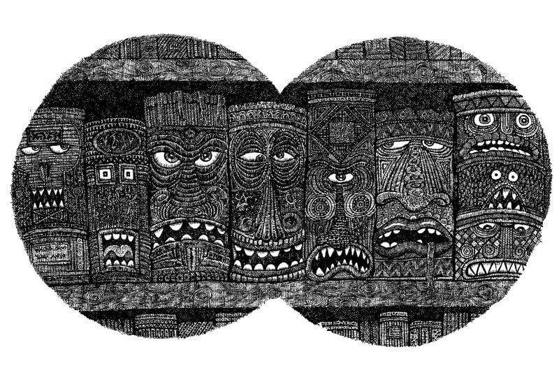 Zamonische Bücher © Walter Moers