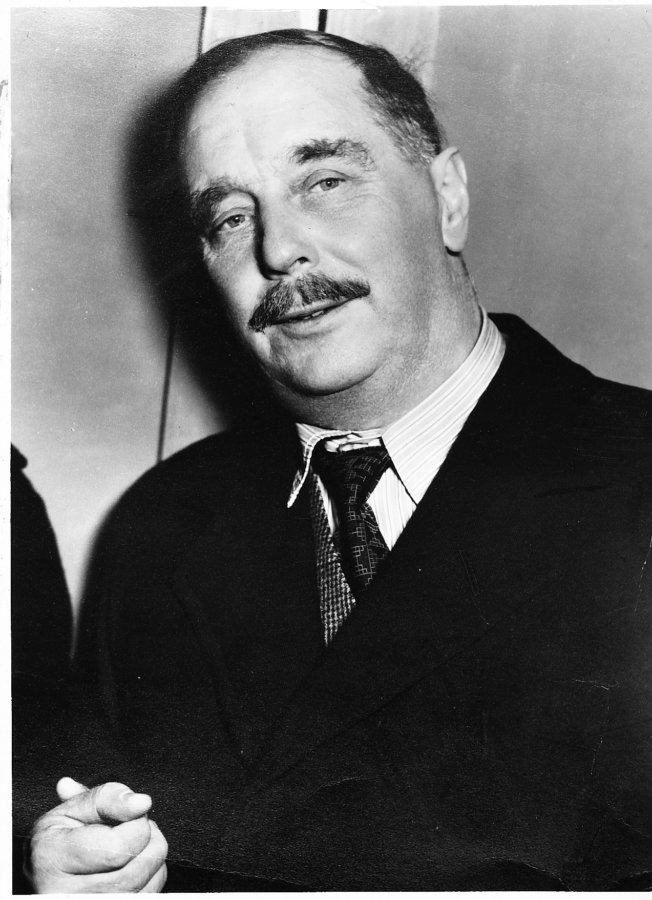 H. G. Wells © Archiv Diogenes Verlag