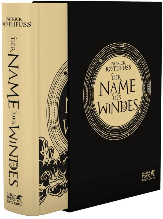 Cover zu Patrick Rothfuss – Der Name des Windes (Illustrierte Luxus-Sonderausgabe)