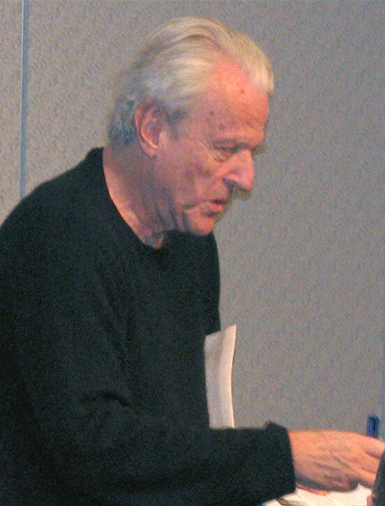 William Goldman (2008) (Quelle: thedemonhog, CC BY-SA 3.0 , via Wikimedia Commons)