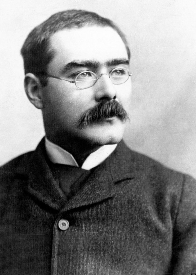 Rudyard Kipling  (John Palmer, public domain, Wikimedia Commons)