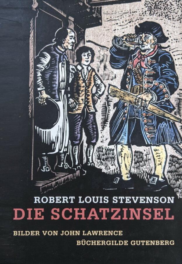 Cover zu Robert Louis Stevenson - Die Schatzinsel (illustrierte Ausgabe)