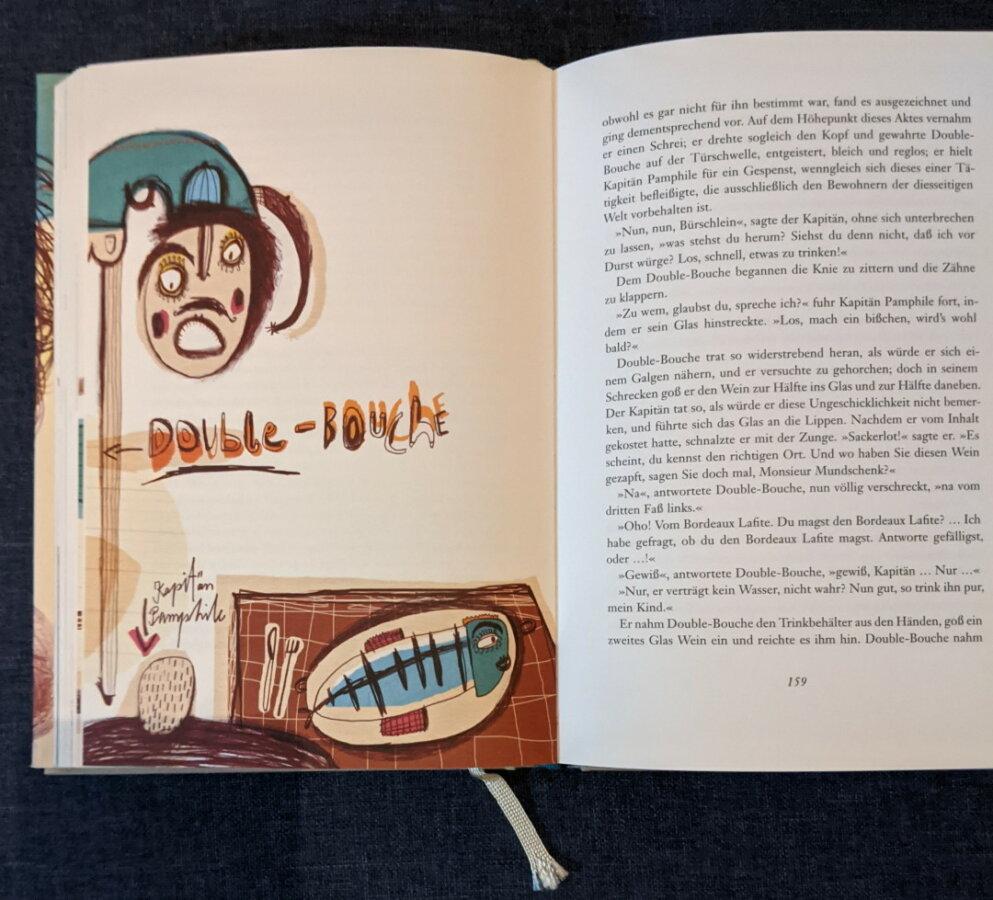 Alexandre Dumas - Kapitän Pamphile - Illustration 3