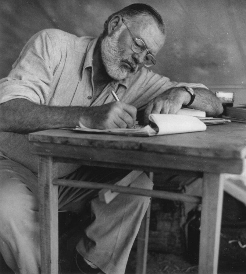 Ernest Hemingway – (c) public domain, Wikimedia Commons